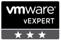 vExpert stars 3